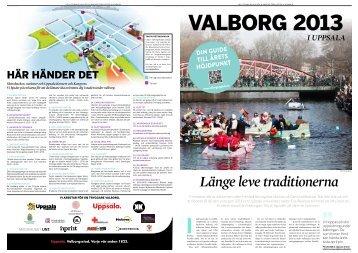 UNT:s Valborgsbilaga - Valborg i Uppsala