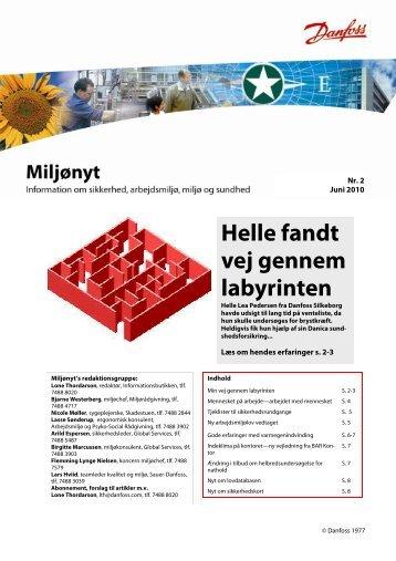 Helle fandt vej gennem labyrinten - Danfoss Industri Service