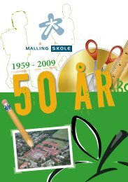 Malling Skole - 2009.indd