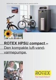 ROTEX HPSU compact – Den kompakte luft-vand ... - Titan Heating