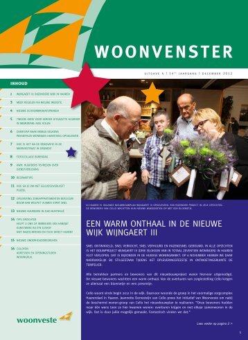 Woonvenster december 2012 - Woonveste
