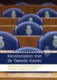 Kennismaken met de Tweede Kamer