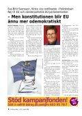 Nej till EU-staten - Folkrörelsen Nej till EU - Page 4