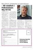 Nej till EU-staten - Folkrörelsen Nej till EU - Page 7