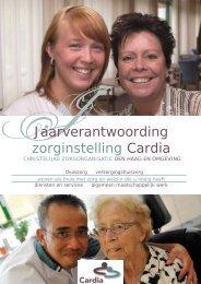 Jaarverslag 2010 - Cardia