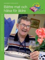 bättre mat och hälsa för äldre - Göteborgsregionens kommunalförbund