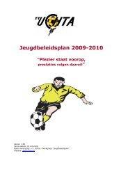 Jeugdbeleidsplan V.V. Uchta 2009-2010 versie 1.00