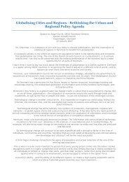 Tale v Gurria - Globalising Cities and Regions - Erhvervsstyrelsen