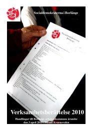 Verksamhetsberättelse 2010.PM6 - S-info