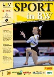 Sport in bw Nr. 03/11 - Badischer Sportbund Nord ev