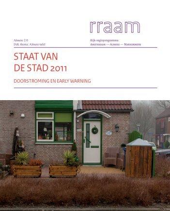 Themabericht 'Staat van de Stad 2011' - Almere 2.0 - Gemeente ...