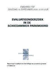 het rapport (pdf) - Openbaar Ministerie