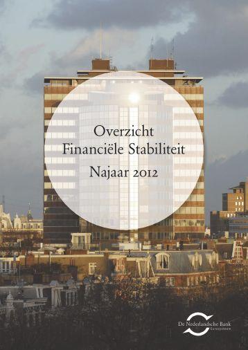 Overzicht Financiële Stabiliteit Najaar 2012 - Vastgoedjournaal