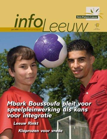 infoLeeuw juni 2009 - Gemeente Sint-Pieters-Leeuw
