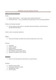 Agendaer til eksamen - Hjemmeside for familien Rosengaard