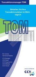 Transaktionsmanager TOM - Baumgartner & Rath Gmbh