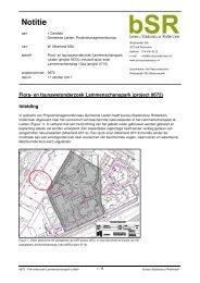 Bijlage 2 Flora- en Faunawetonderzoek Lammenschanspark - Leiden