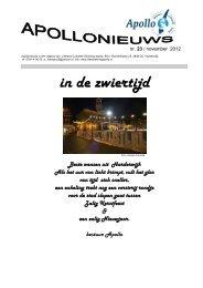 nr. 23 / november 2012 - Literaire Kring Apollo