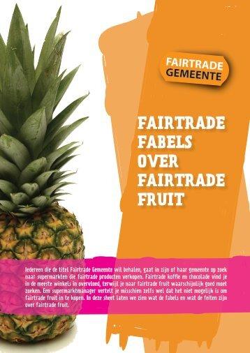 Ananas zomeractie - Fairtrade Gemeente