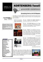 Vrijetijdskatern juli/augustus 2004