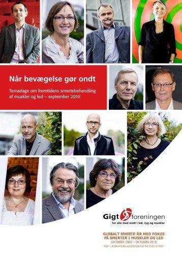 Hent magasinet (PDF) - Gigtforeningen