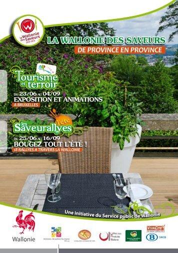 Les Saveurallyes - Centre d'action touristique des provinces ...