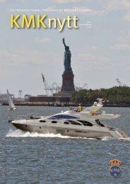 en föreningstidning från kungliga motorbåt klubben - Parvus ...