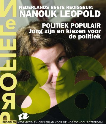 NANOUK LEOPOLD - Profielen - Hogeschool Rotterdam