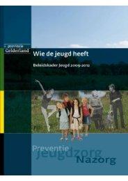 Beleidskader jeugd 2009 - Spectrum Gelderland