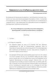 Entscheidung Nr. 665/2010 - Nationalfonds der Republik Österreich ...