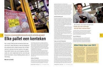 Elke pallet een kenteken - Logistiek.nl