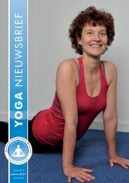 Yoga Nieuwsbrief 2013-01 - Vereniging Yogadocenten Nederland