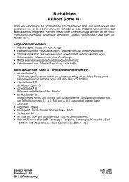 Richtlinien Altholz Sorte A III - Bausch