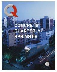 Concrete Quarterly (CQ) Spring 2006 - The Concrete Centre