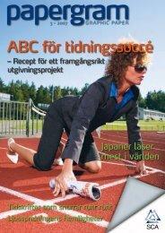 ABC för tidningssuccé - SCA