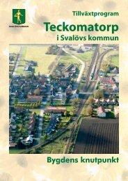 Teckomatorp - Svalövs kommun