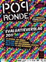 Evaluatieverslag 2011 - Popronde