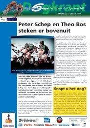 Peter Schep en Theo Bos steken er bovenuit