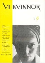 1960/6 - Vi Mänskor