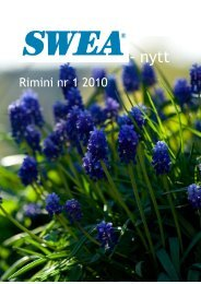 - nytt - SWEA International