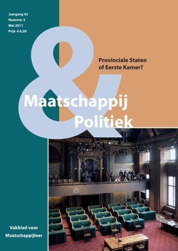 2011-3 - Maatschappij en Politiek Magazine
