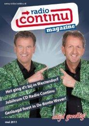 Mei 2011 - Radio Continu