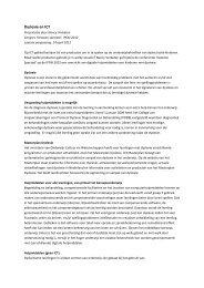 Dyslexie en ICT - Kennisnet