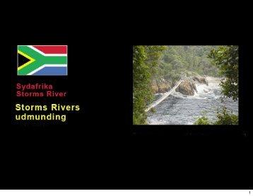 Link: Storms River ved udløbet i Det indiske Ocean (PDF)