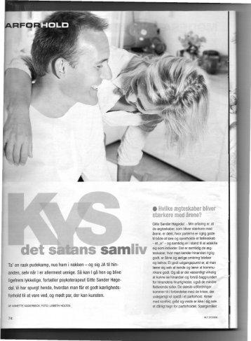 Kys det satans samliv - Gitte Sander