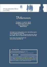 Nyt fra formanden - Foreningen af Erhvervskvinder