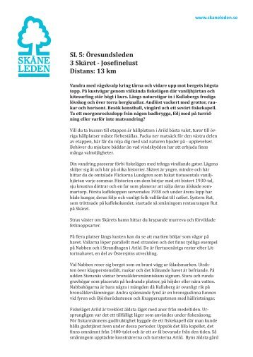 Information SL5 Öresundsleden, etapp 3 (.pdf 359 KB)