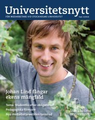 Johan Lind fångar ekens mångfald Tema: Studentliv efter ...