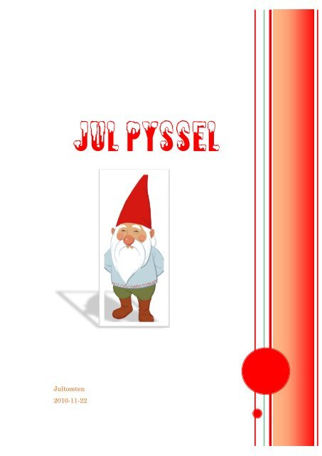 JUL PYSSEL - Forsnet.se