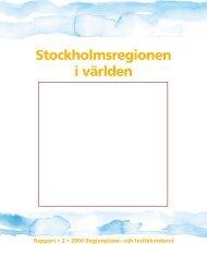 Rapport orig - SLL Tillväxt, miljö och regionplanering (TMR ...